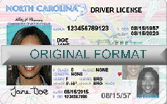 North Carolina Fake ID