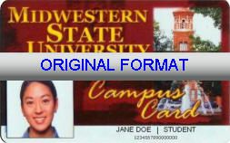 MIDWESTERN UNIVERSITY STUDENT ID UNIVERSITY STUDENT ID DRIVER LICENSE ORIGINAL FORMAT, DESIGN SPECIFICATIONS, NOVELTY SECURITY CARD PROFILES, IDENTITY, NEW SOFTWARE ID SOFTWARE