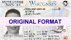 buy fake wisconsin id with hologram scannable